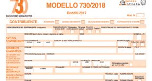 730 precompilato modello