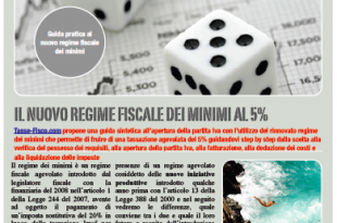Guida PDF sul regime fiscale dei minimi (ed ex-minimi) - 2,4 mb