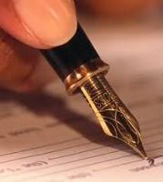 Penna per firmare contratto leasing automobile