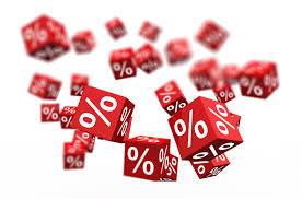 dadi rossi per pagamenti percentuali