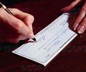 Avvisi di liquidazione per donazione assegni circolari e for Prendere in prestito denaro per costruire una casa