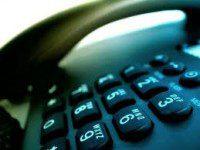 tastierino numerico del telefono