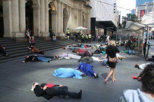 flash mob in strada, come forma di protesta