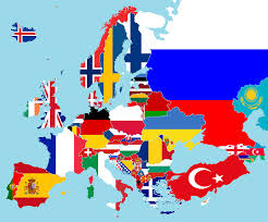 Bandiere e paesi europei