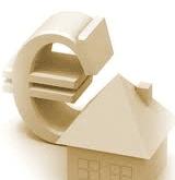 Icona casa e simbolo euro