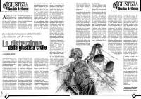 Screenshoot dell'articolo scritto dall'Avvocato Fabrizio Bruni, presidente dell'Associazione degli Avvocati Romani