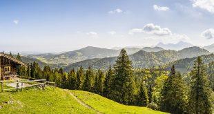 paesaggio alpino vallata