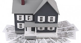 casa con mutuo in bianco e nero