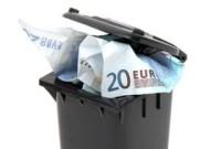 rfiuti nel cassonetto e pagamento tari