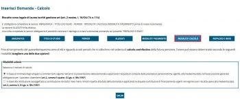 calcolo costo riscatto sul sito INPS