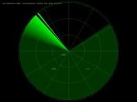 immagine radar verde
